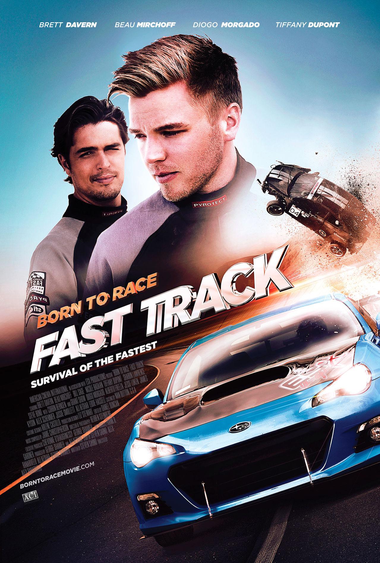Born to Race: Fast Track / Роден да се състезава: Бърза писта (2014)